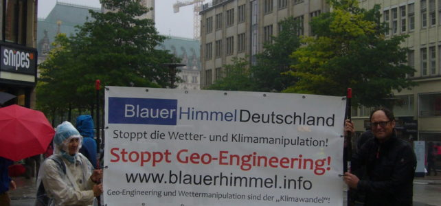 G20-Demonstration in Hamburg – Blauer Himmel Deutschland war dabei!